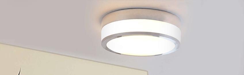 Lampada da soffitto in vetro