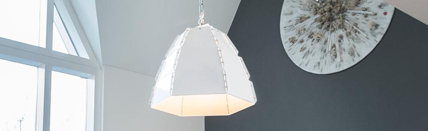 Lampade a sospensione bianca