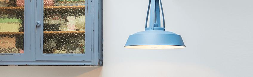 Lampade a sospensione blu