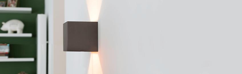 Lampade da parete grigie