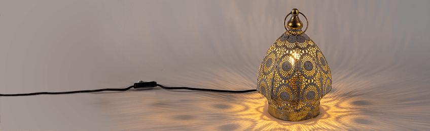 Lampade da tavolo orientali