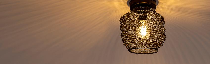 Lampade a soffitto orientali