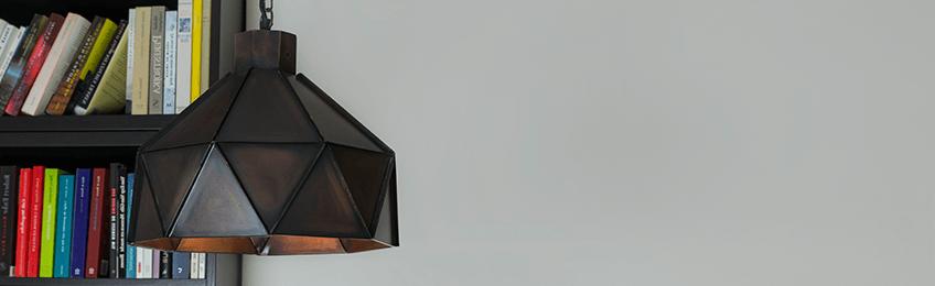 Lampade a sospensione marroni