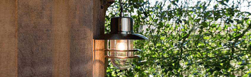 Lampade da esterno in acciaio inossidabile