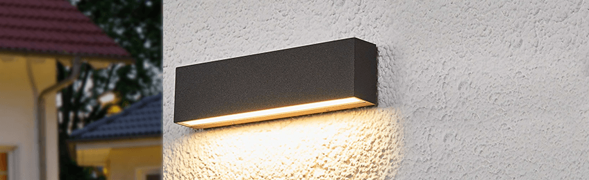 Luce esterna con sensore crepuscolare
