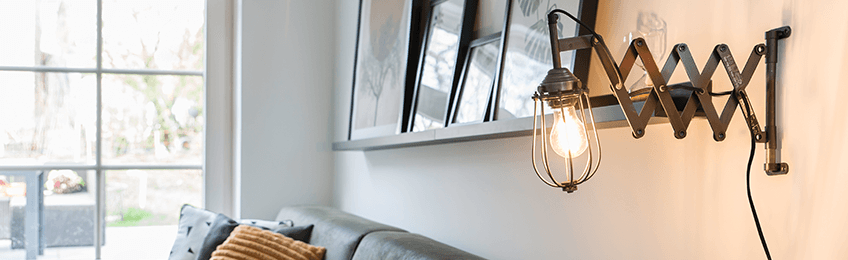 Robuste lampade da parete industriali