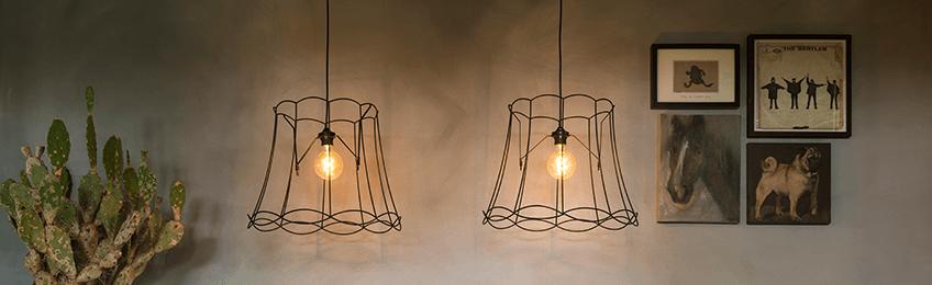 Lampade a sospensione in metallo
