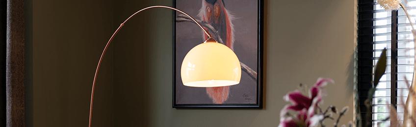 Lampade da terra oro / ottone
