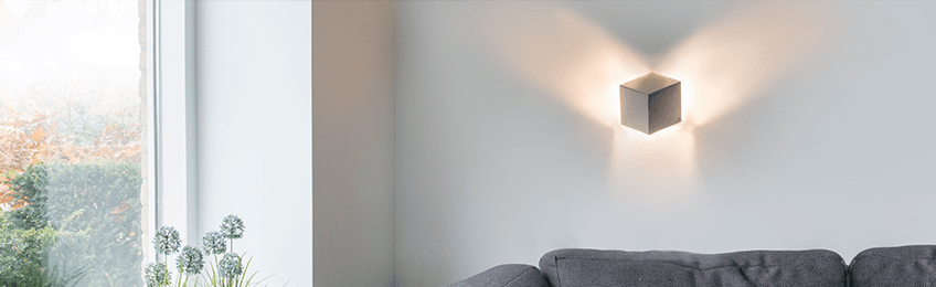 Lampade da parete dimmerabili