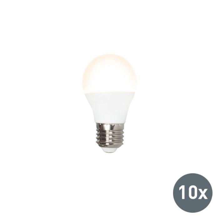 Confezione-10-lampadine-a-LED-E27-G45-5W-3000K