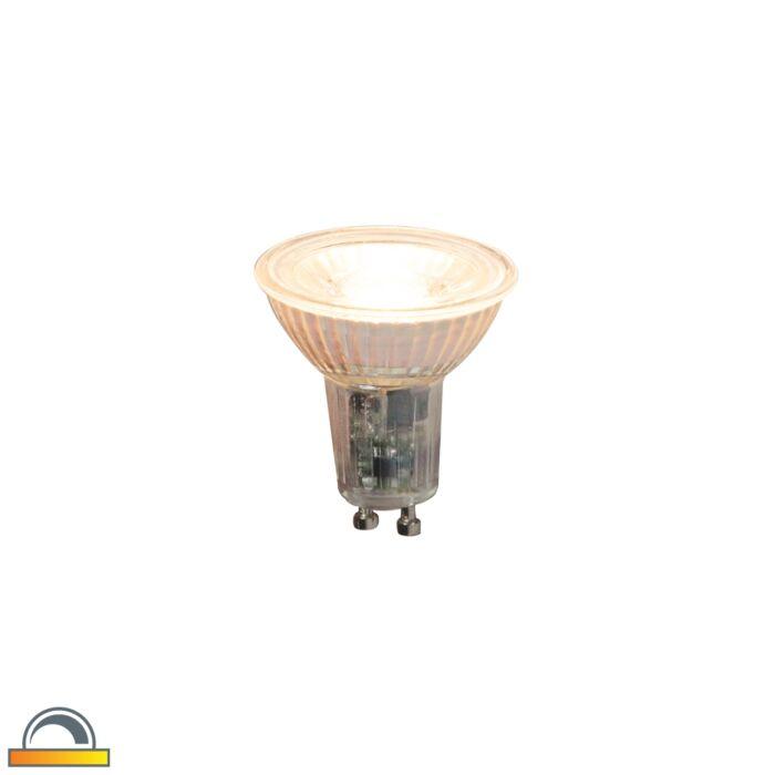 Lampadina-LED-GU10-360lm-2000K-2700K-dimm-kelvin