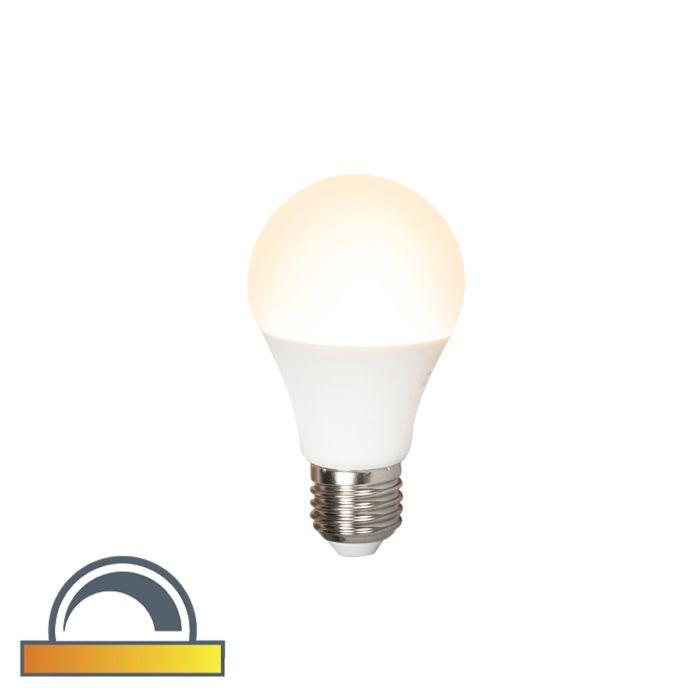 Lampadina-LED-E27-510lm-2000K-2700K-dimm