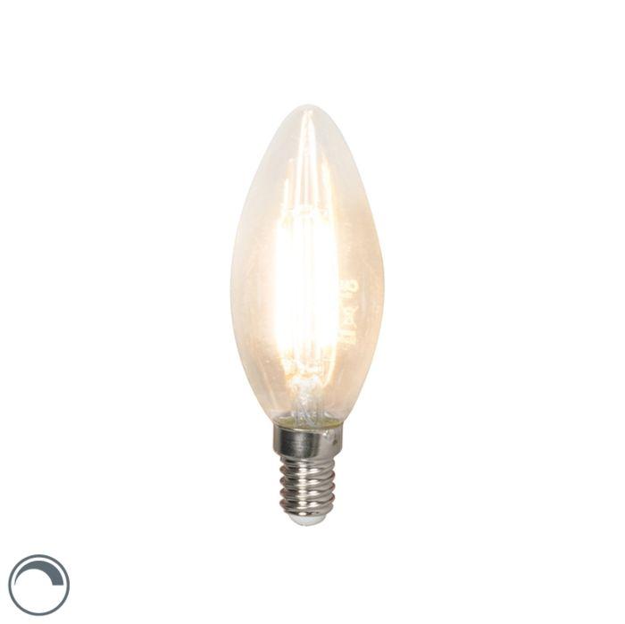Lampadina-LED-E14-350lm-2700K-Candela-dimm