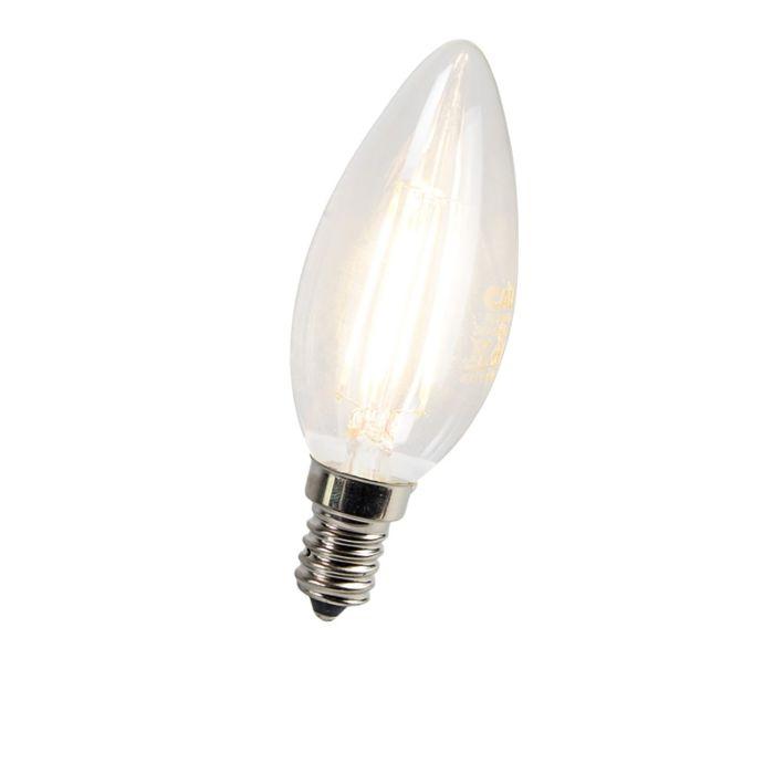Lampadina-candela-E14-LED-3-Watt-300-Lumen-Bianco-caldo