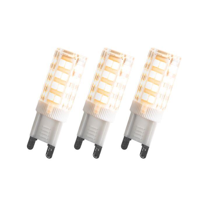 Set-di-3-lampadine-G9-LED-3,3W-200LM