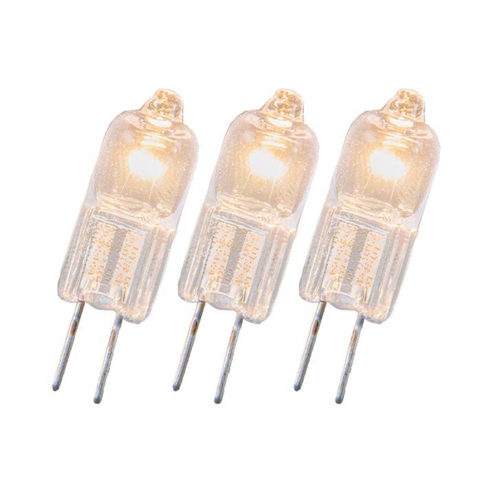 Confezione-3-lampadine-alogene-G4-20W-12V
