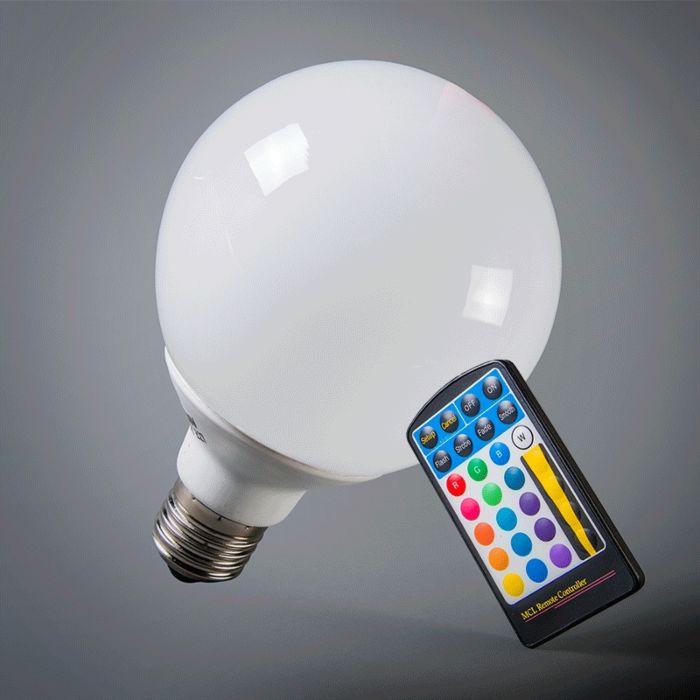 Globo-95mm-E27-LED-3.8-Watt-30-Lumen-RGB-(aggiustabile)