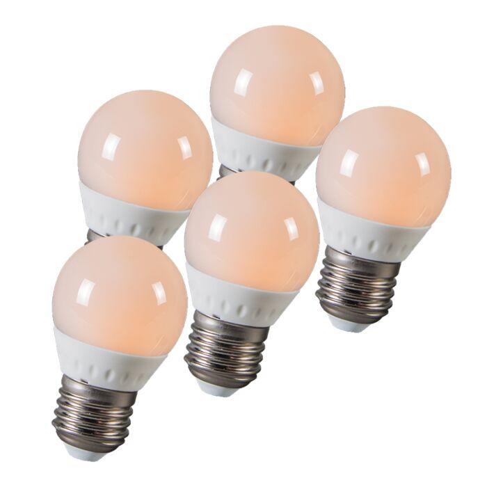 Set-di-5-lampadine-LED-E27-3W(=25W)-250-lumen