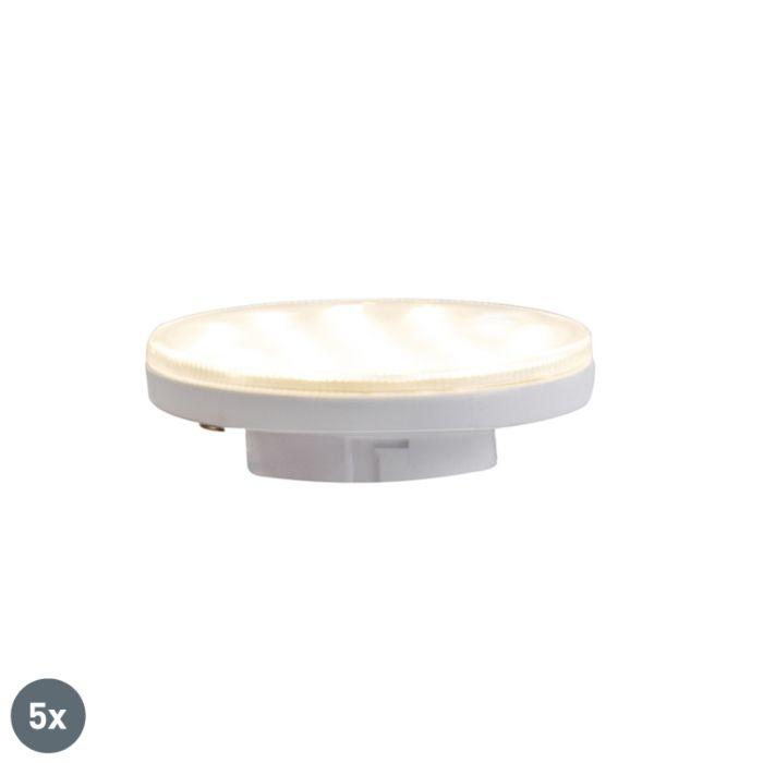 Set-5-lampadine-LED-GX53-3-livelli-350lm-3000K-dimm