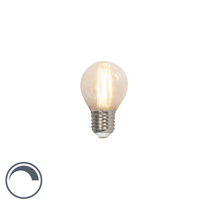 Lampadina-LED-E27-350lm-2700K-sfera-dimm