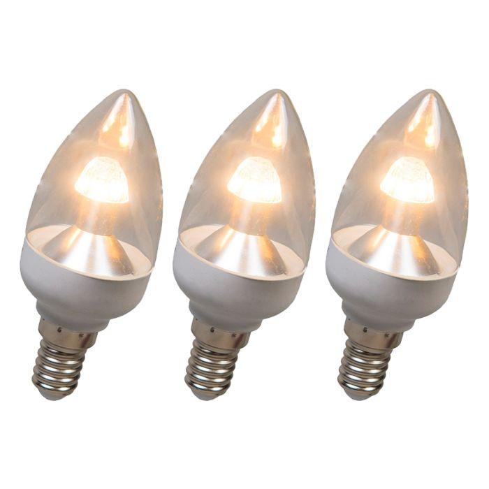 Set-di-3-lampadine-E14-a-candela-LED-4W-250LM