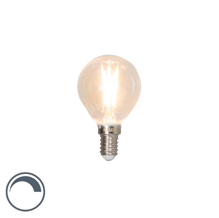Lampadina-LED-E14-350lm-2700K-sfera-dimm