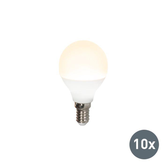 Confezione-10-lampadine-a-LED-E14-G45-3W-3000K