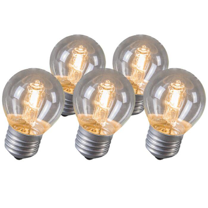 Confezione-5-lampadine-alogene-E27-28W