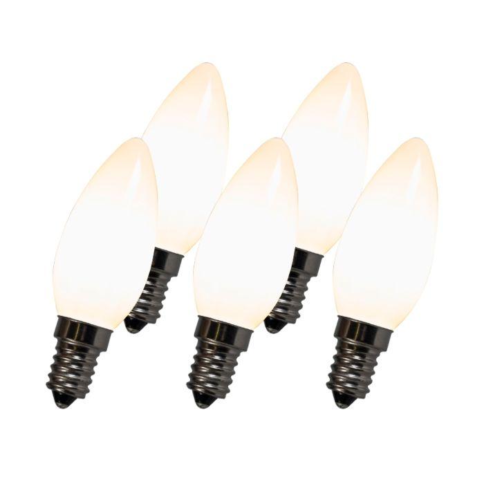 Set-di-5-lampadine-LED-a-candela-a-filamento-C35-E14-2W