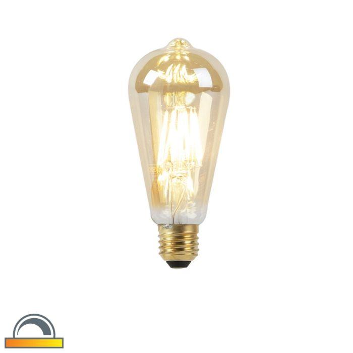 Lampadina-LED-E27-2000-2600K-ST64-dimm-kelvin