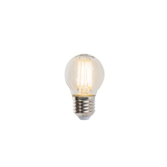 Set-5-lampadine-LED-E27-470lm-2700K-sfera-dimm