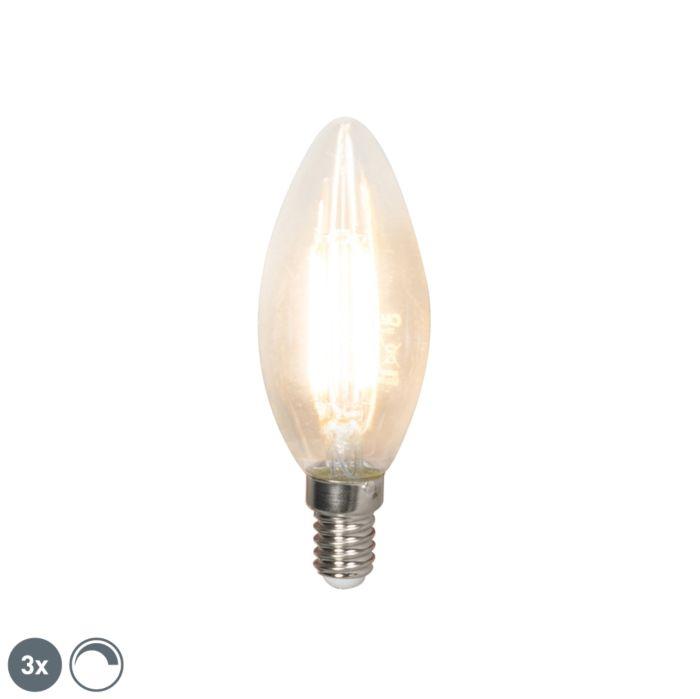 Set-3-lampadine-LED-E14-350lm-2700k-candele-dimm