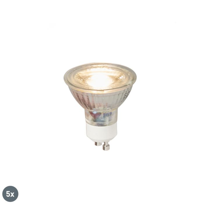 Set-5-lampadine-LED-GU10-5W-380lm-3000K