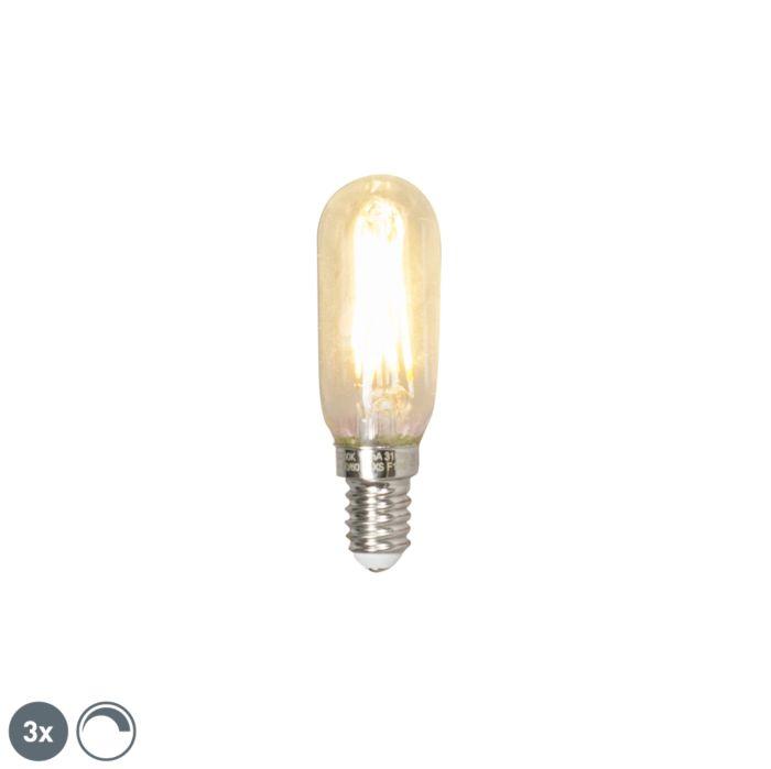 Set-3-lampadine-E14-LED-310lm-2700K-tubo-dimm