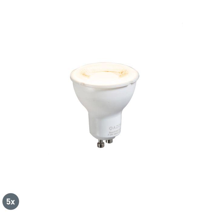 Set-5-lampadine-GU10-702lm-3000k