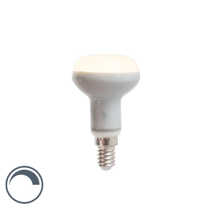 Lampadina-LED-E14-R50-220lm-2800K-riflettore-dimm
