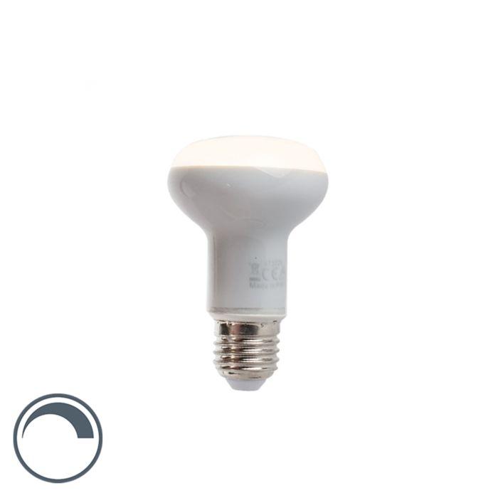 Lampada-E27-LED-R63-370lm-2900K-riflettore-dimm