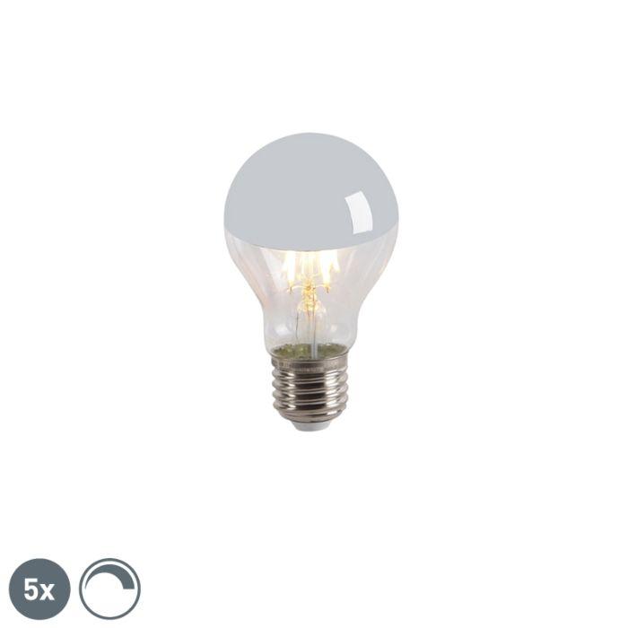 Set-5-lampadine-LED-E27-300lm-specchio-dimm