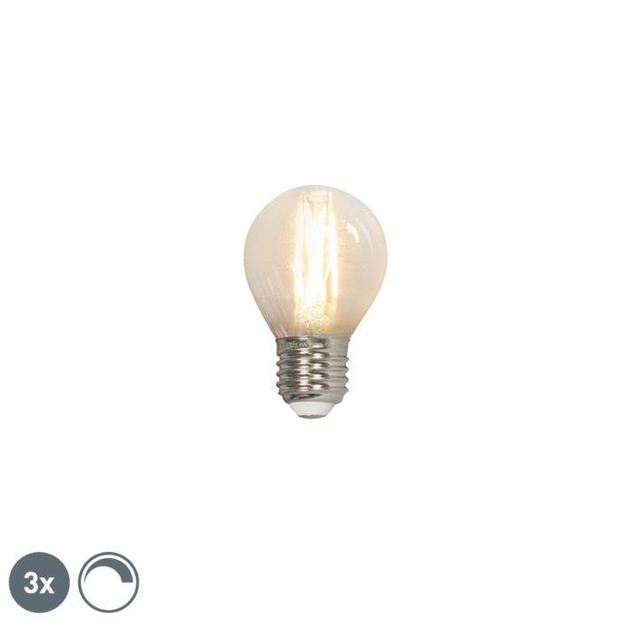 Set-3-lampadine-LED-E27-350lm-P45-dimm-sfera