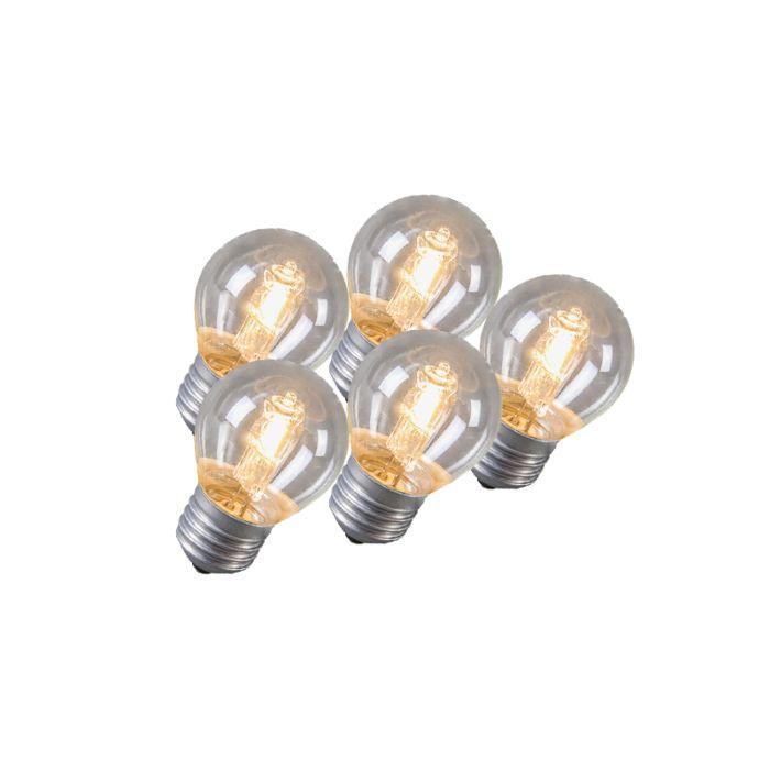 Set-di-5-lampadine-alogene-E27-42W