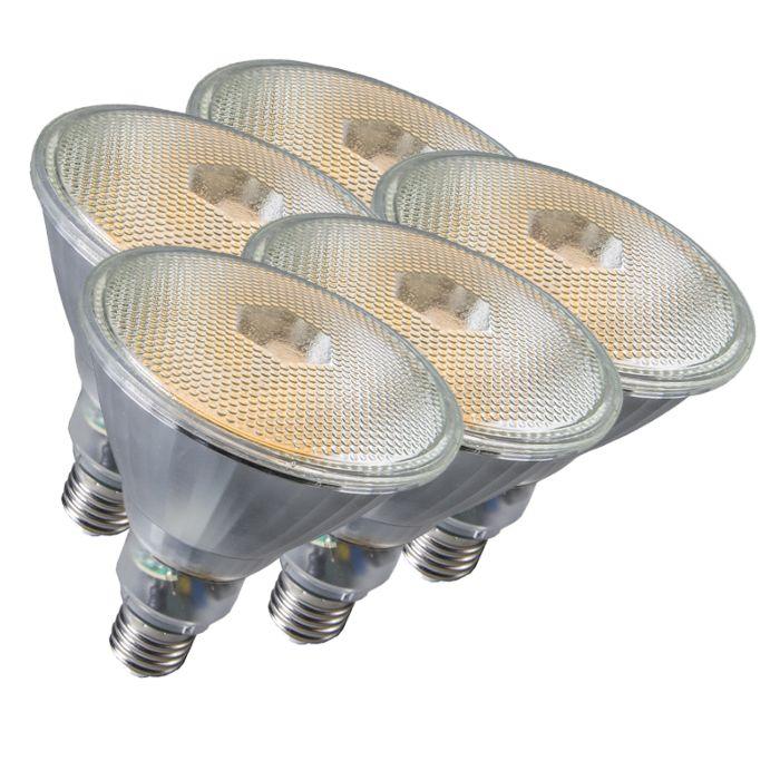 Set-di-5-lampadine-E27-20W-800LM-bianco-caldo