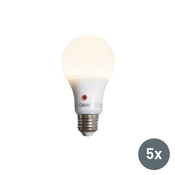 Set-di-5-lampadine-a-LED-A65-E27-8W-710LM-con-sensore