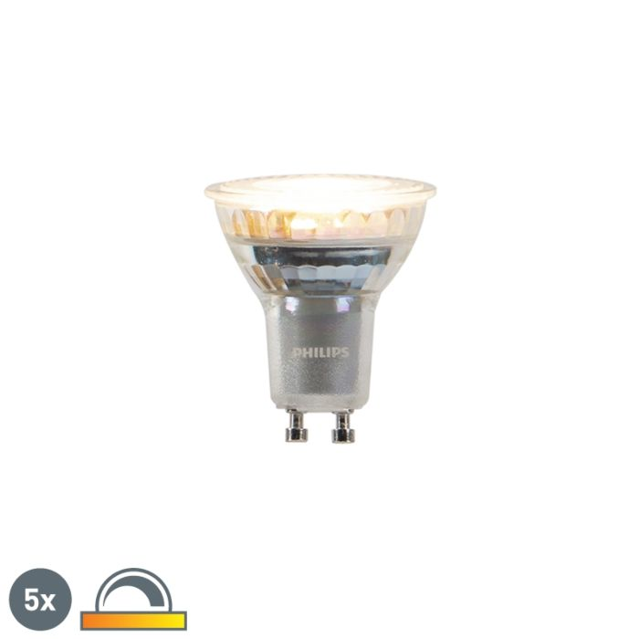 Set-5-lampadine-LED-GU10-260lm-2200-2700k-dimm