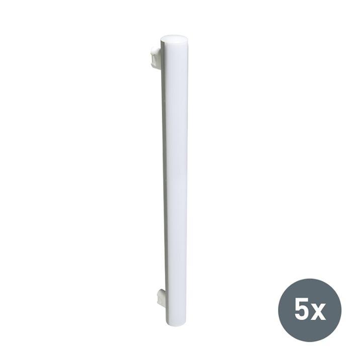 Set-di-5-tubi-a-LED-240V-5W-2700K-bianco-caldo