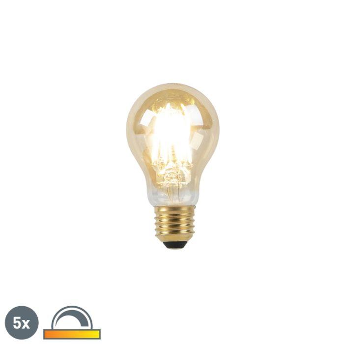 Set-5-lampadine-LED-E27-900lm-2000-2600K-dimm