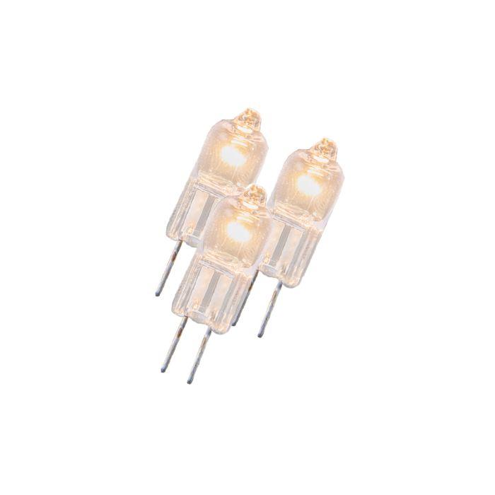 Set-di-3-lampadine-G4-alogene-5W-23LM-bianco-caldo-regolabile