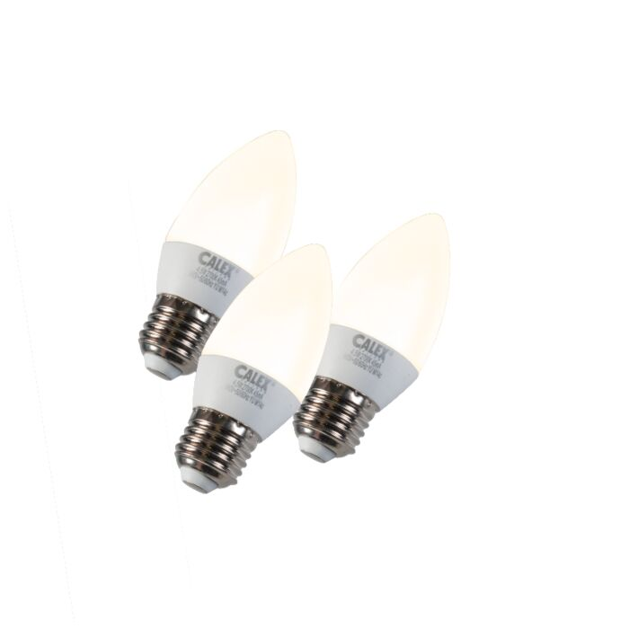 Set-di-3-lampadine-a-candela-a-LED-E27-5W-240V-2700K-dimmerabile