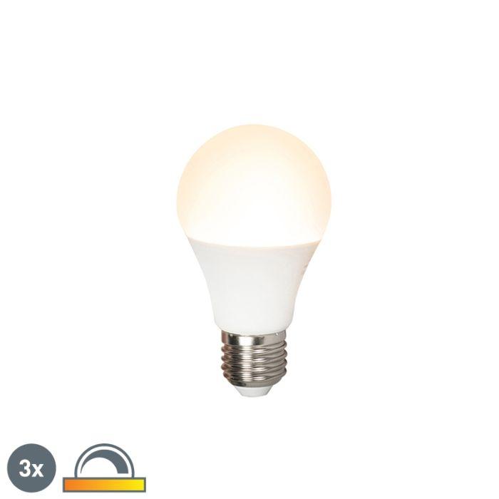 Set-3-lampadine-LED-E27-510lm-2000-2700k-dimm-Kelvin