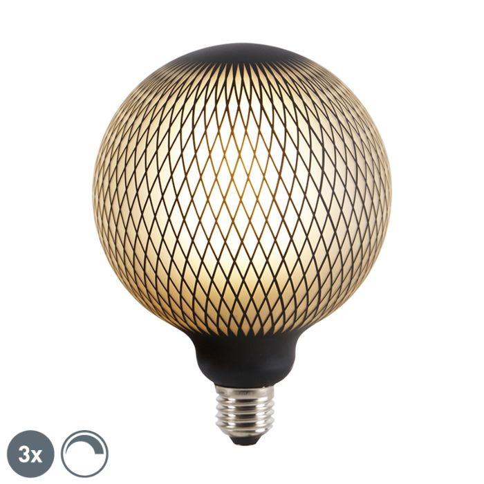 Set-3-lampadine-LED-E27-180lm-2700K-globo-DECO-dimm