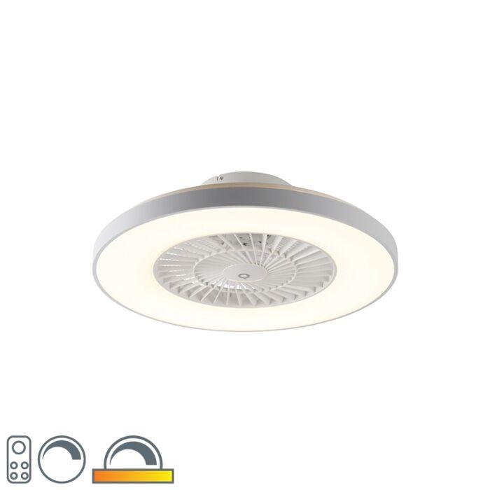 Ventilatore-da-soffitto-bianco-effetto-stella-dimm---CLIMO